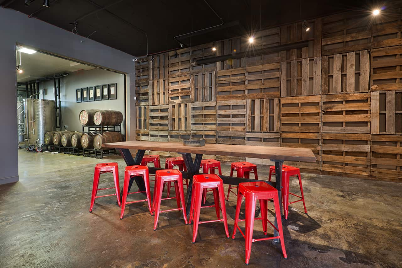 Urban Tree Cidery beverage branding and interior design by Vigor in Atlanta, Georgia