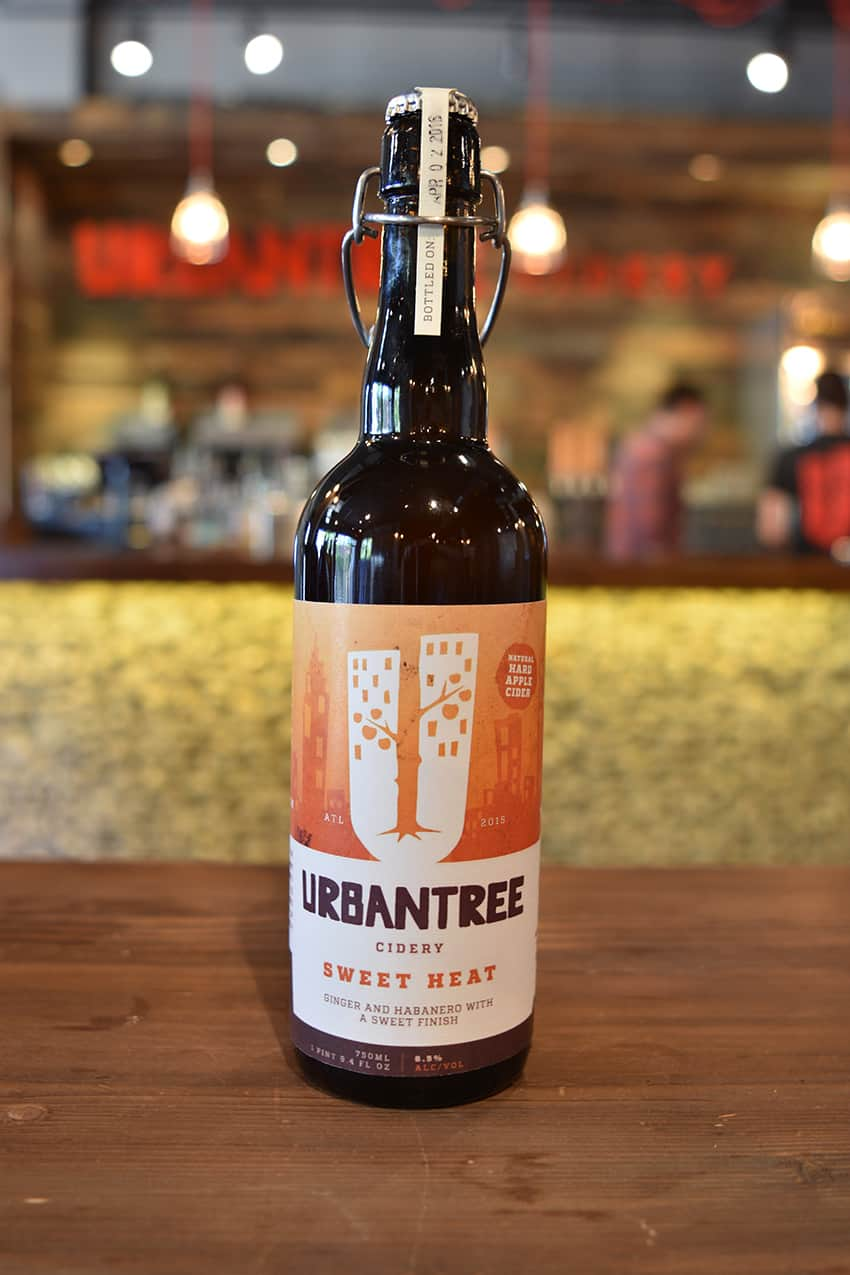 Urban Tree Cidery branding and package design