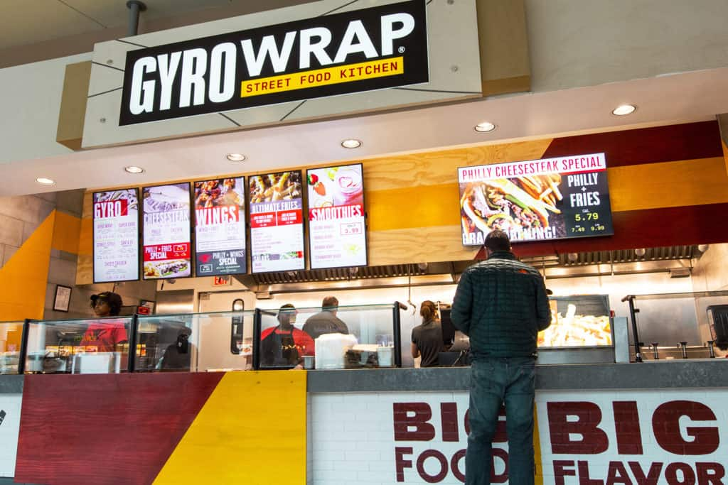 Gyro Wrap QSR quick serve restaurant branding and concept development
