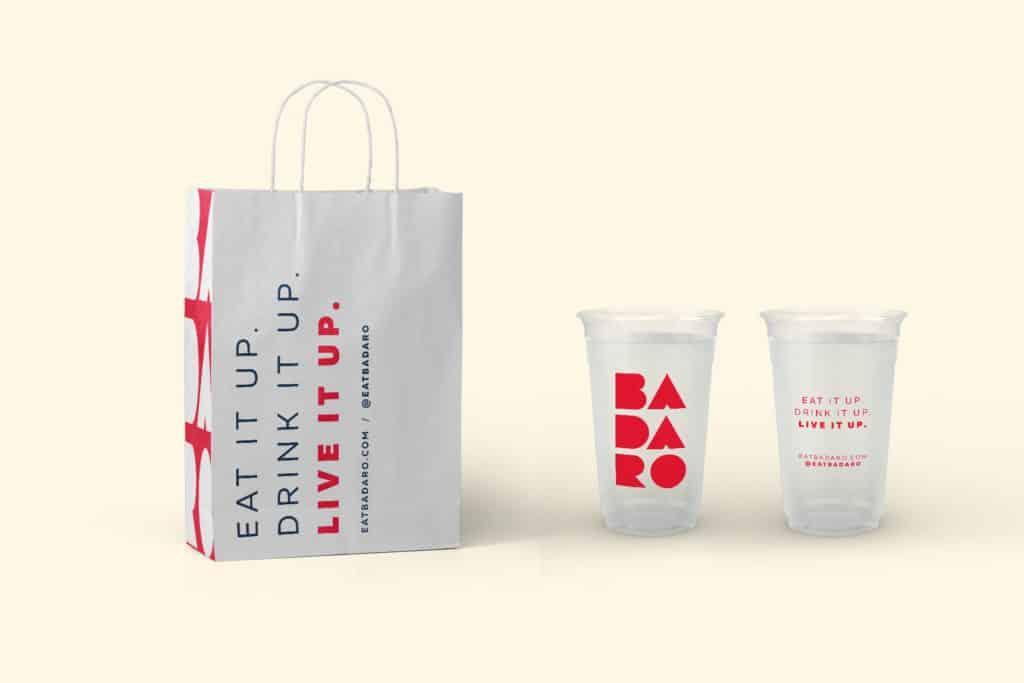 Badaro Mediterranean fast casual restaurant branding and concept development