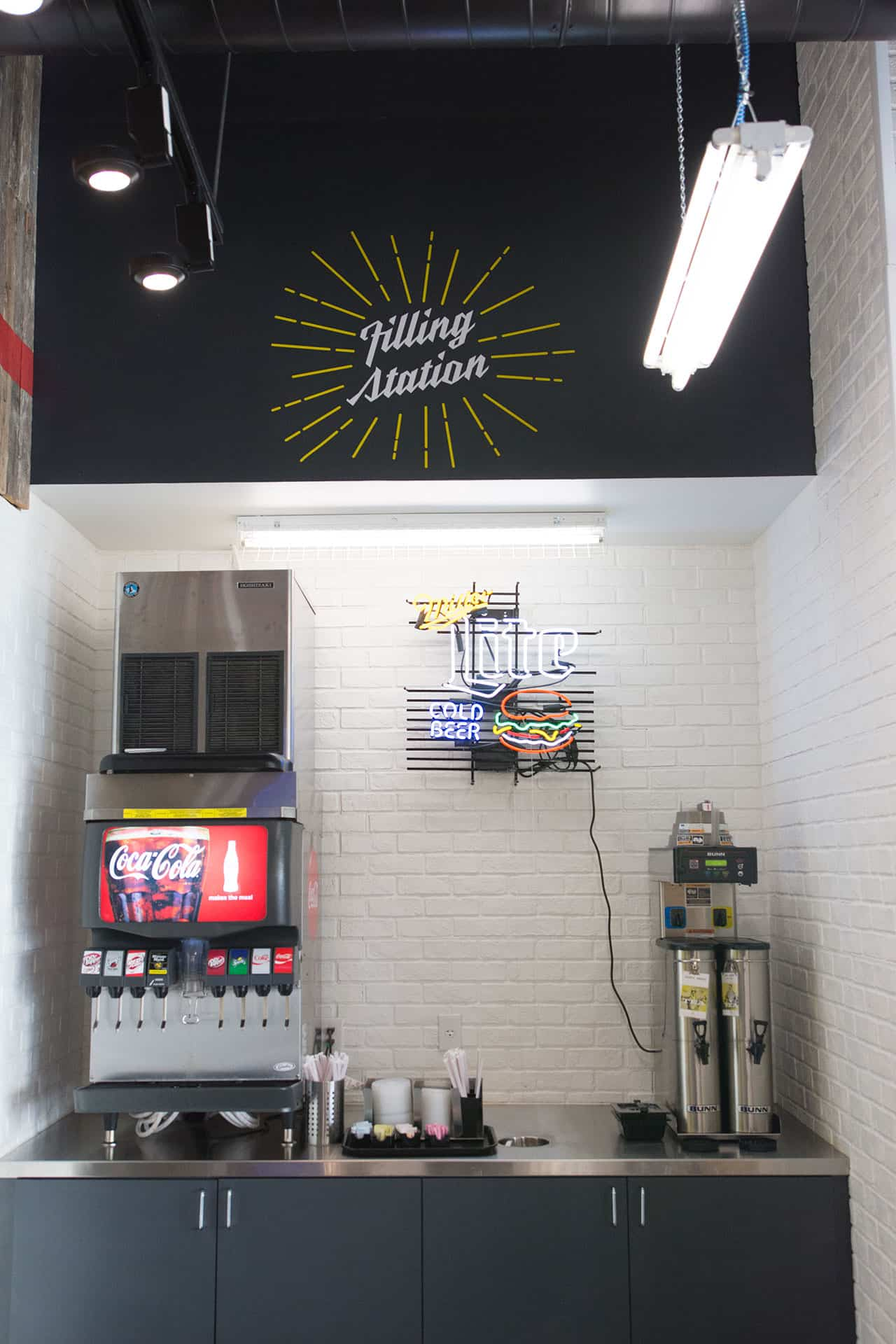 Flash Burger better burger fast casual restaurant branding and concept development interior designs