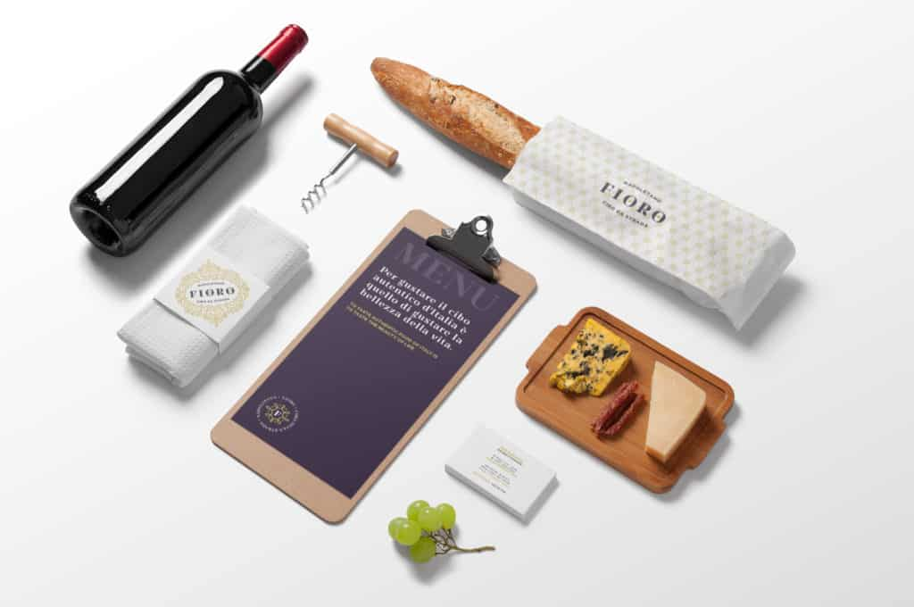 Fioro italian fast casual restaurant concept development and branding