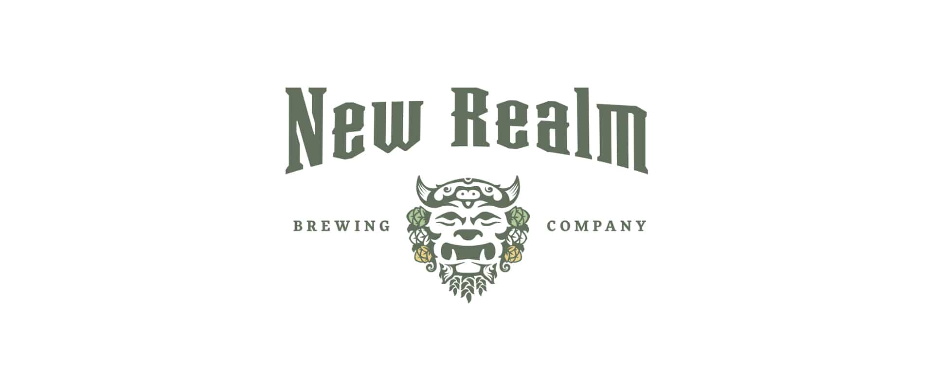 New Realm Brewing craft beer branding logo design