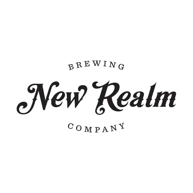 New Realm Brewing logo design option and exploration branding