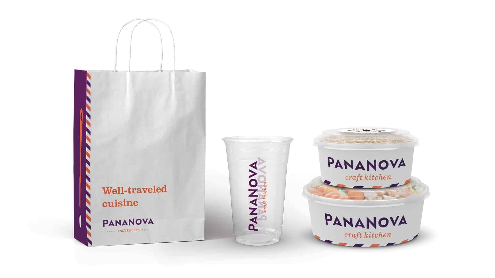 PanaNova craft kitchen fast casual restaurant branding