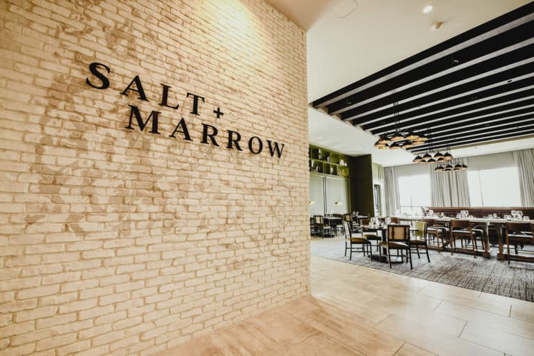 Salt & Marrow restaurant branding and F&B concept development for Crowne Plaza in North Augusta, South Carolina