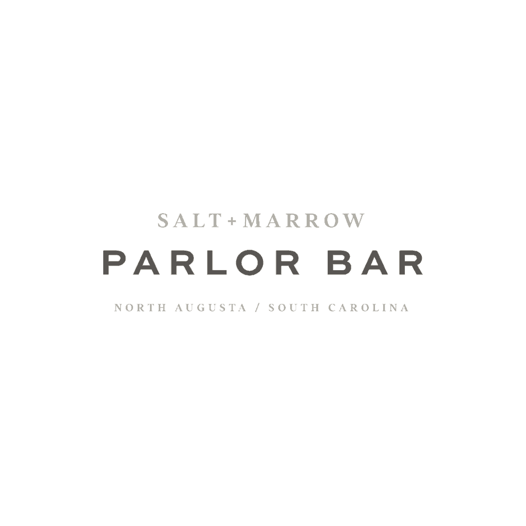 Salt & Marrow Parlor Bar hotel lobby lounge branding and design