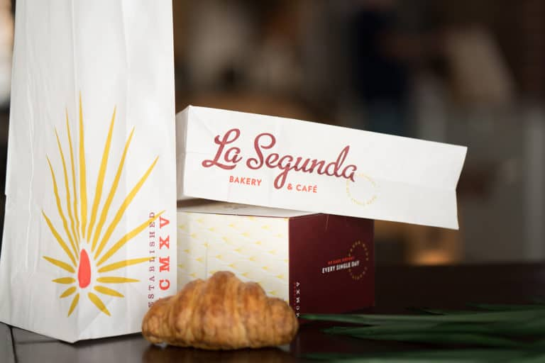 La Segunda Café and Bakery rebranding and repositioning