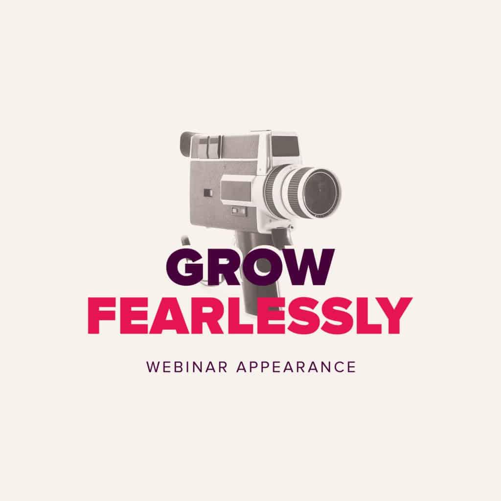 Joseph Szala's appearance on Grow Fearlessly webcast
