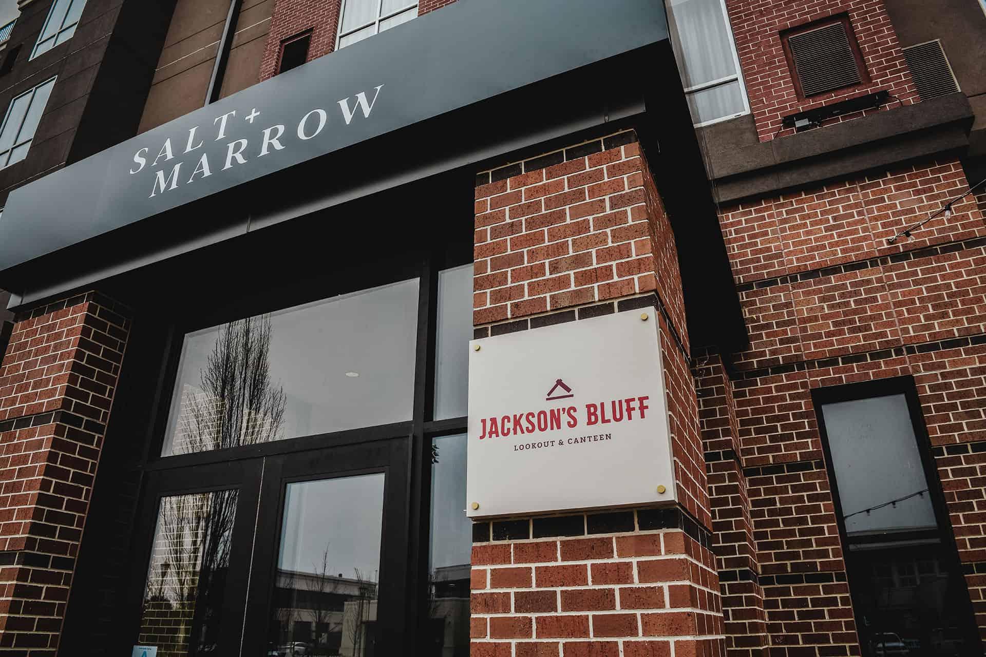 Salt & Marrow hotel restaurant F&B branding and design