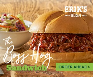 Erik's DeliCafé made with character campaign - digital banner ads