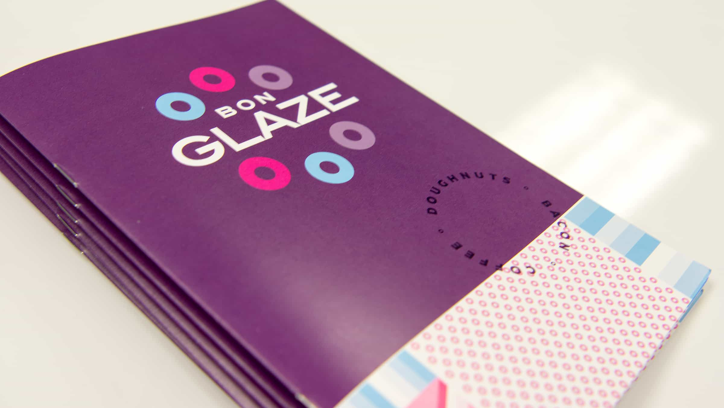 Bon Glaze doughnuts restaurant branding and design