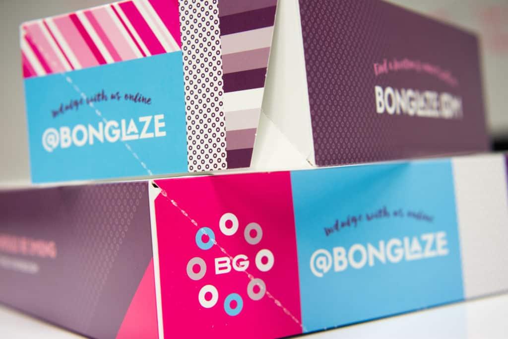Bon Glaze doughnuts restaurant branding and design