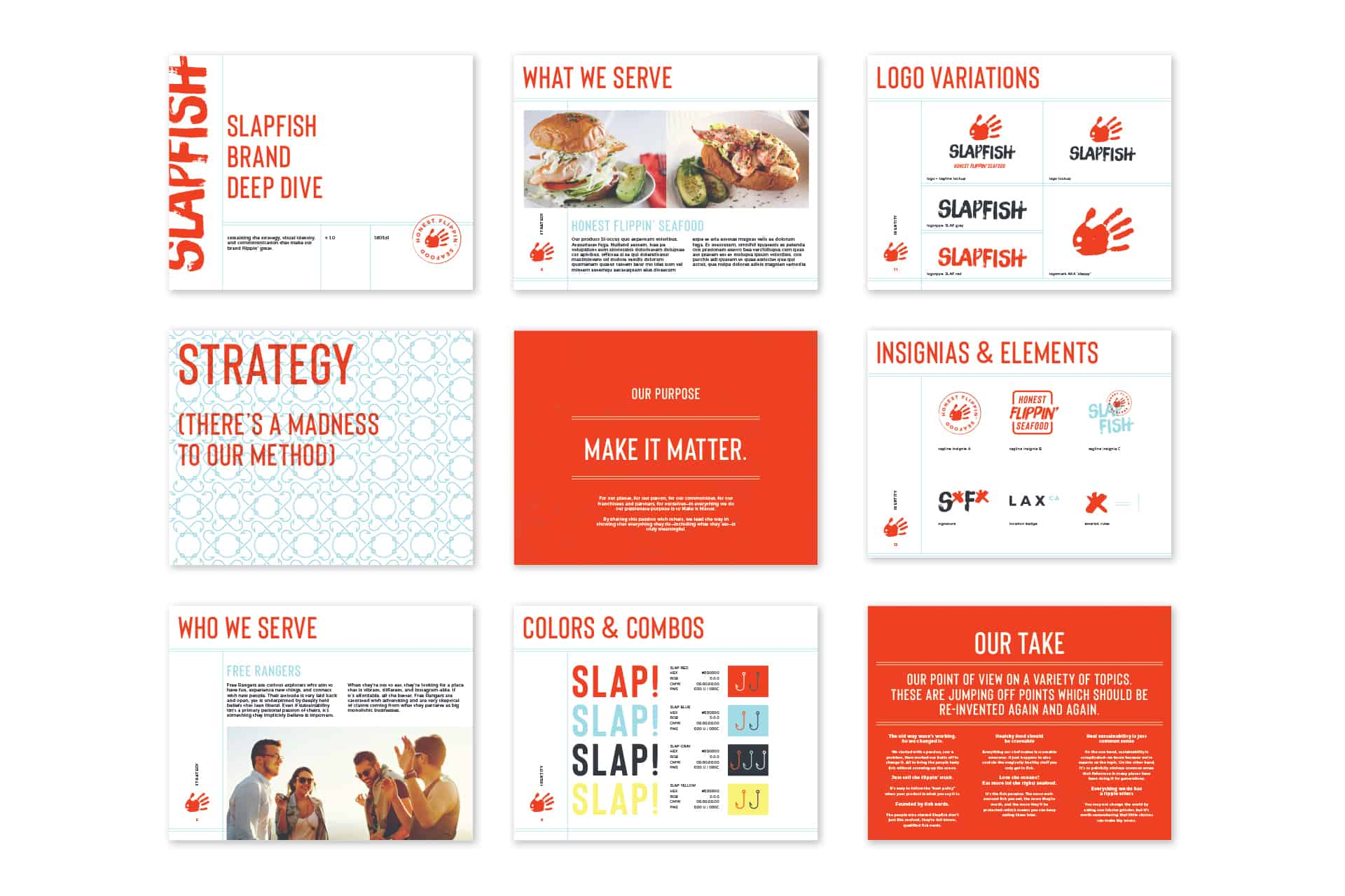 SlapFish seafood restaurant brand standards manual