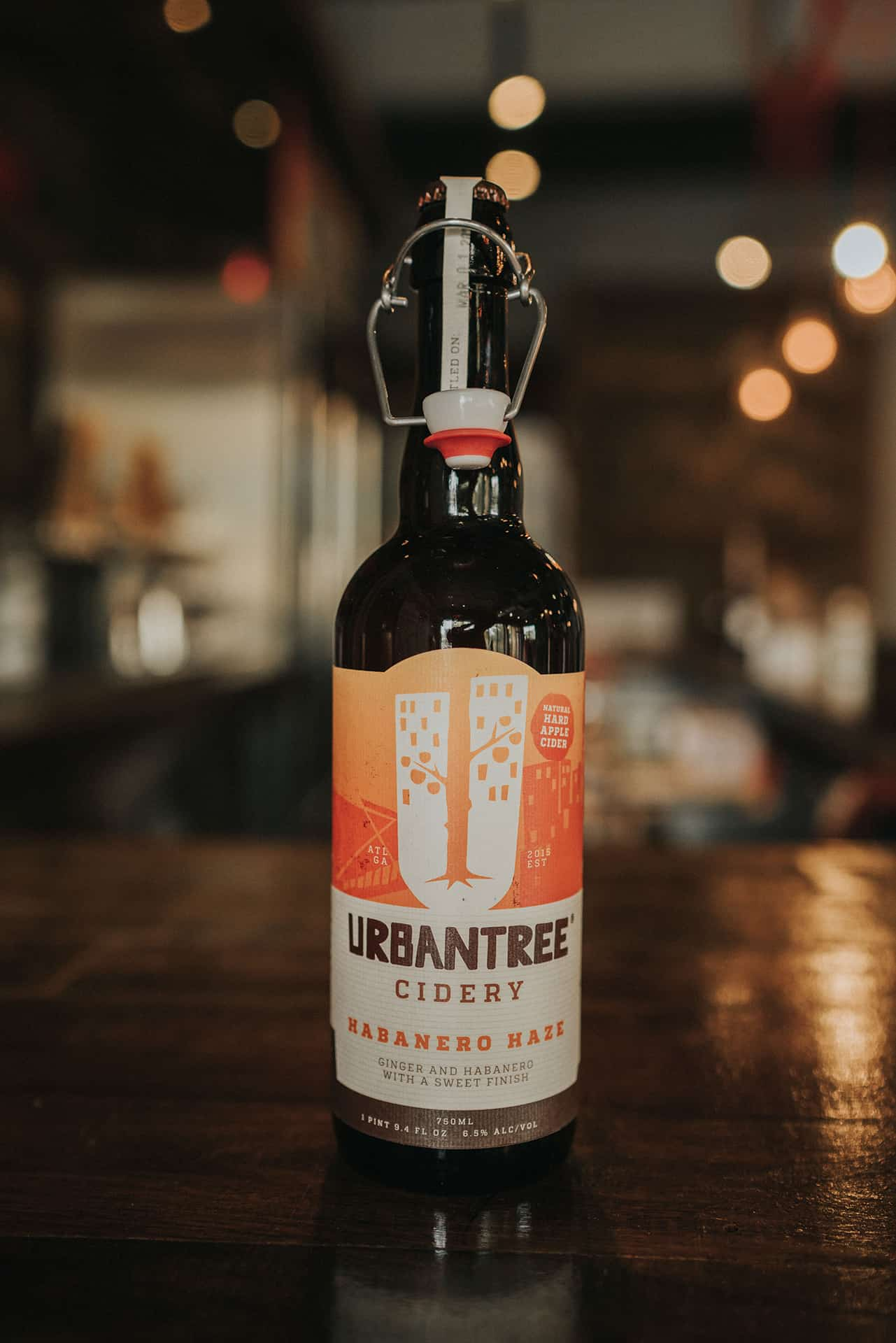 UrbanTree Cidery secondary packaging branding and design