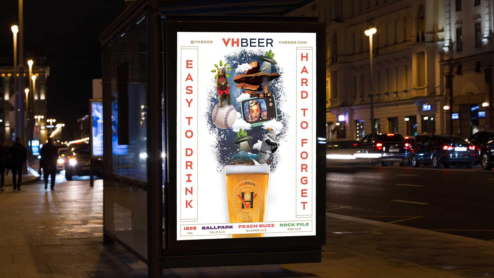 VHBeer craft beer advertising