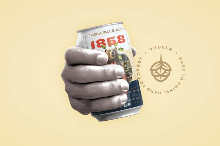 VHBeer craft beer branding naming and package design
