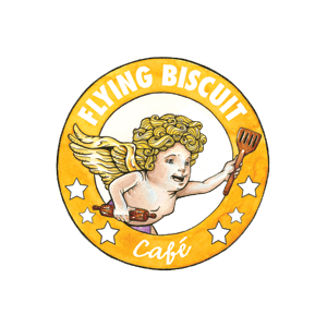 Flying Biscuit cafe brand identity design