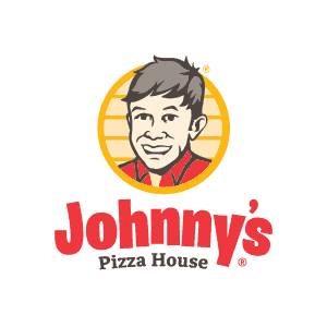 Johnny's Pizza House brand identity design
