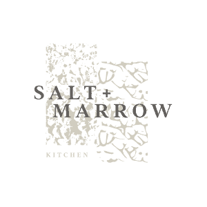 Salt & Marrow full service restaurant brand identity design