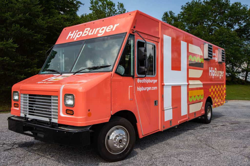 HipBurger restaurant branding foodtruck design