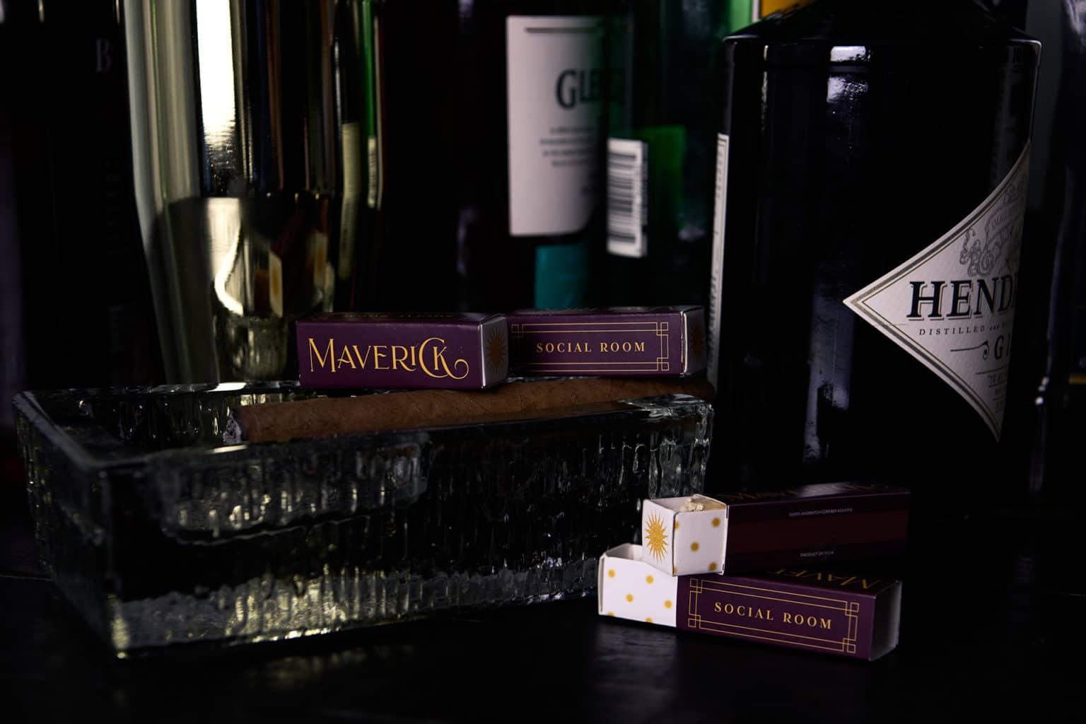 Maverick bar restaurant branding and concept development in Atlanta, Georgia