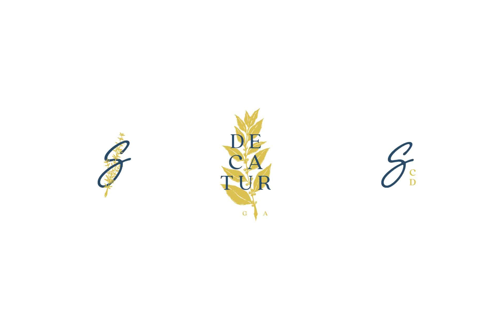 Socialite full service restaurant branding logo design
