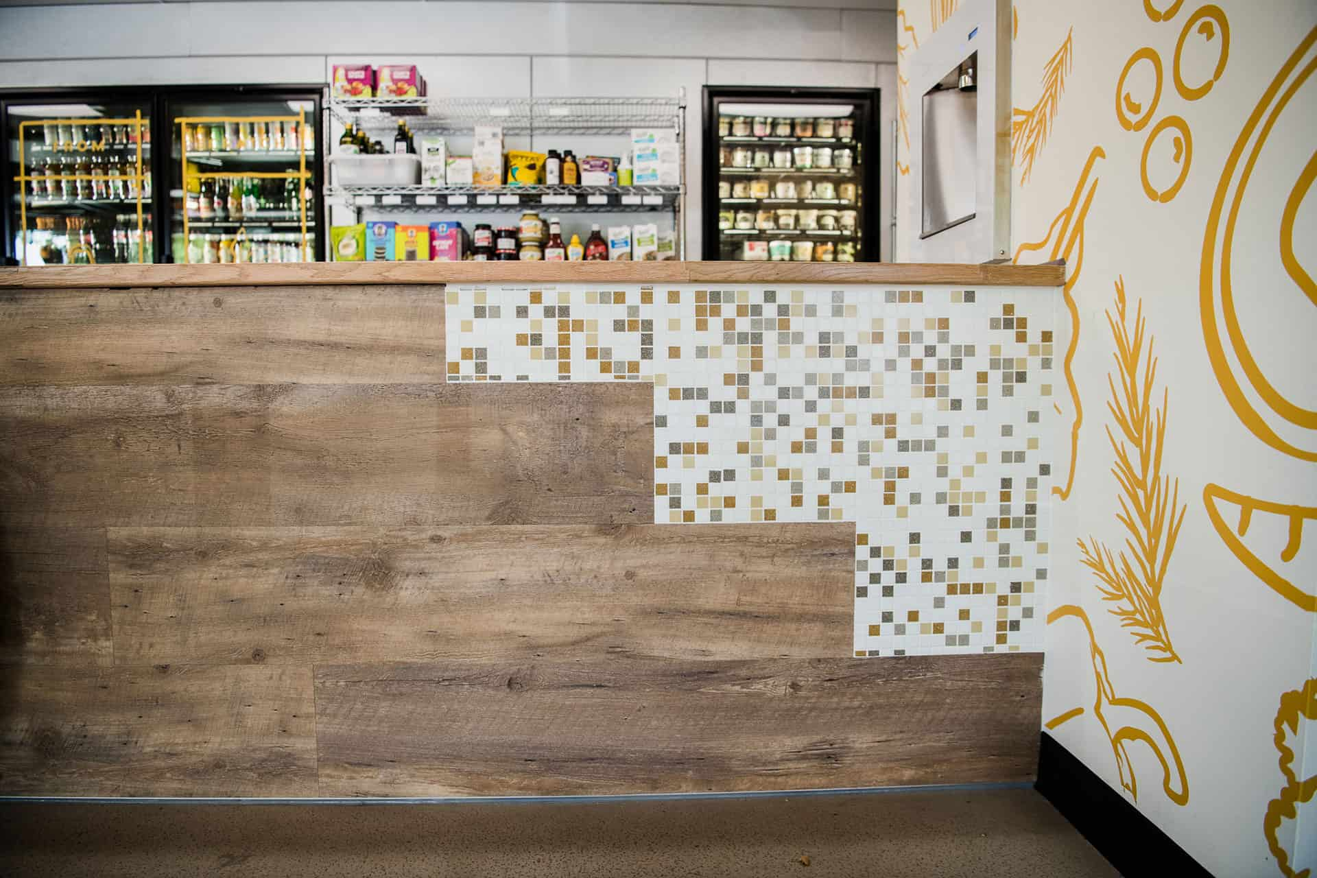 Scratch Kitchen virtual restaurant branding interior design