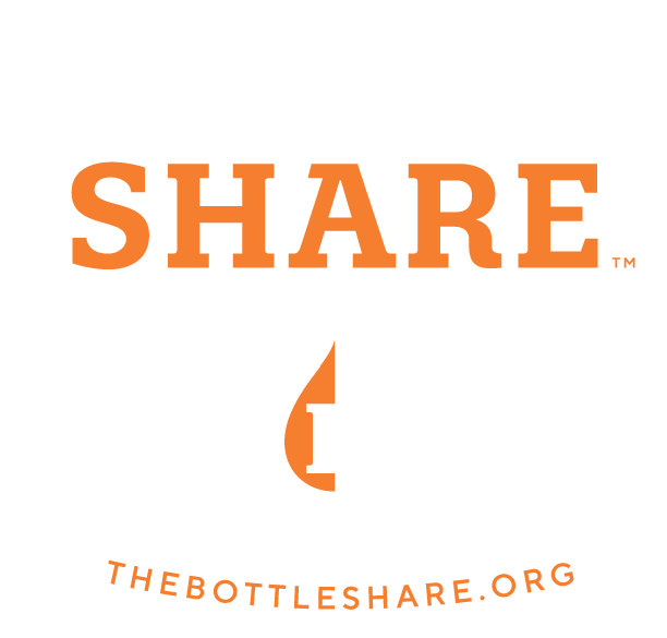 BottleShare craft beer nonprofit branding logo design