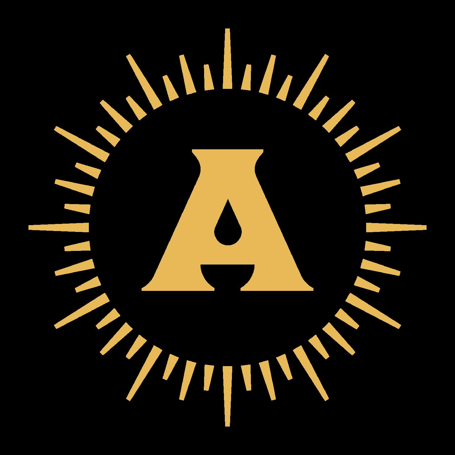 Apotheos Coffee Roastery branding and identity design mark