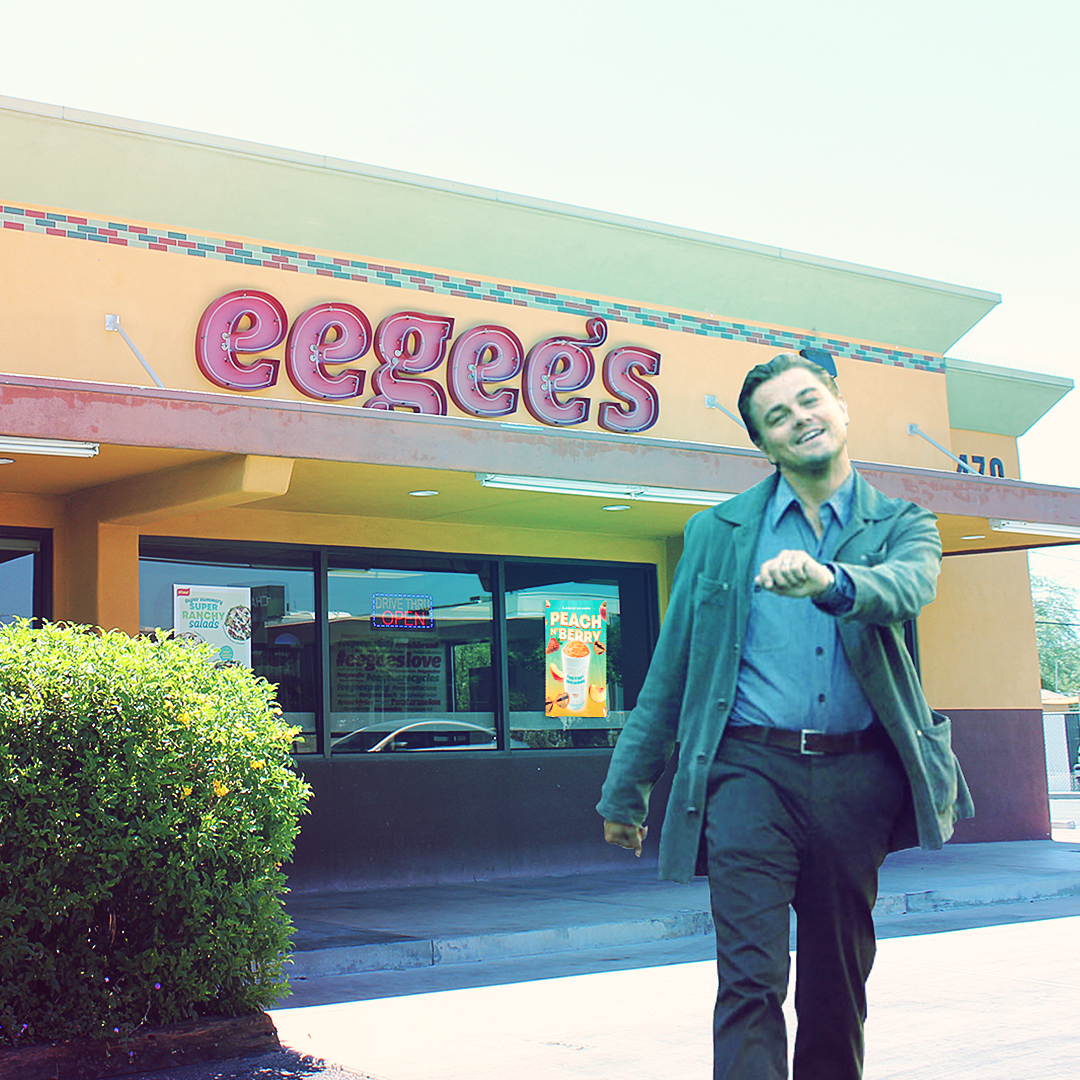 eegee's restaurant social media creative and strategy