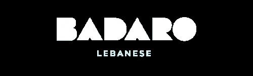 Badaro Mediterranean fast casual restaurant branding and concept development brand identity design logo design