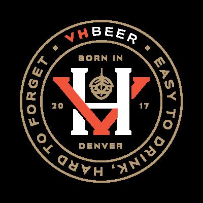 VHBeer - craft beer branding logo design